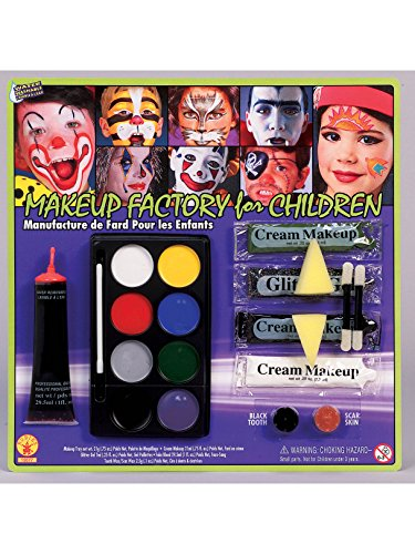 Makeup Factory for Children with Glitter, Fake Blood, Scar Wax and Black Tooth Wax]()