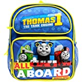 Small Backpack - Thomas The Tank Engine - All a Board Blue 12 School Bag TECF01
