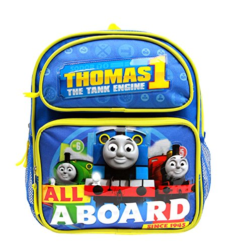 """Granny's Best Deals (C) Thomas the Train All Aboard Railway 10"""" Toddlers Kids Backpack-Brand New!"""
