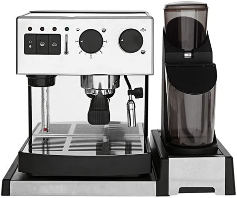 Brielstore SEG162A Independiente Manual Máquina espresso 2L 2tazas ...