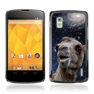 Designer Depo Hard Protection Case for LG Nexus 4 E960 / Space Camel
