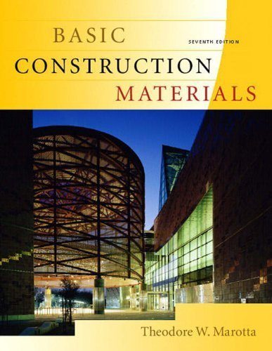 Basic Construction Materials by Theodore Marotta (2004-07-20)