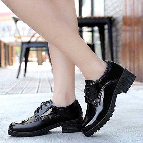 Sandalen SW HCFKJ Stiefel Schuhe Mode Damen Frauen 2018 Flache Kurze Leder Knöchel Damen Oxford Freizeitschuhe Sommer ZdwqxFrdT