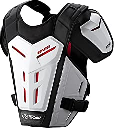 EVS Revo 5 Roost Guard-White-L/XL