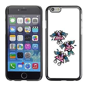 CaseCaptain Carcasa Funda Case - Apple Iphone 6 PLUS 5.5 / Cool Triangles /