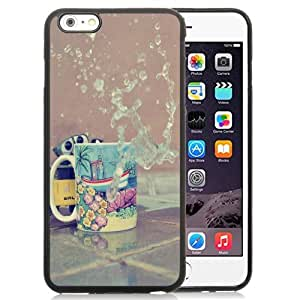 New Personalized Custom Designed For iPhone 6 Plus 5.5 Inch Phone Case For Cup and Splashed Water Phone Case Cover