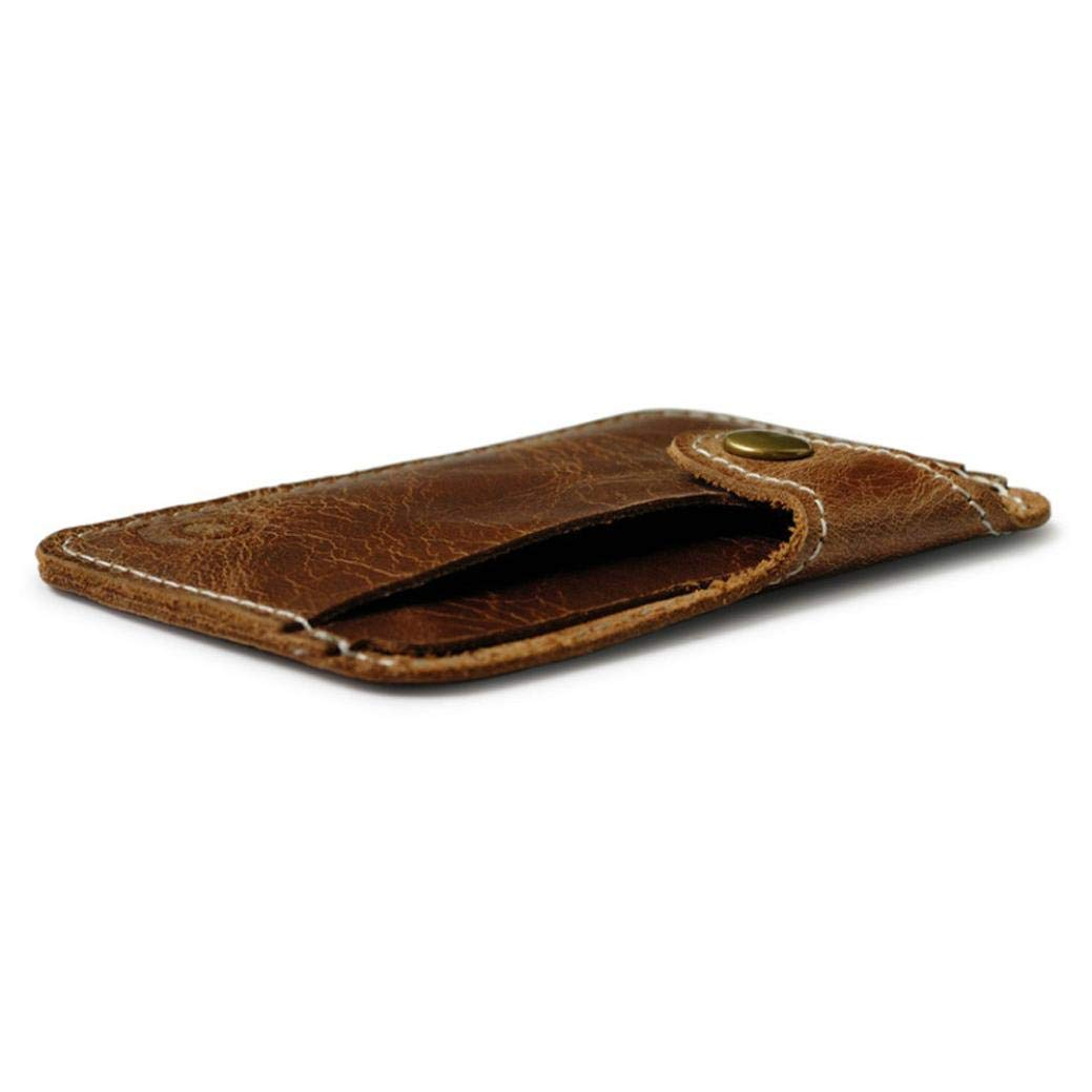 Xiong Buy Mens Fashion Money Clip Slim Holder Wallet Leather Wallets Money Clips Card Mens Leather Flipout ID Wallet Bifold