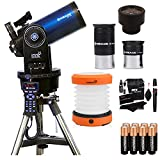 Meade Instruments ETX125 Observer Telescope and Tripod (205005), Ritz Gear Cleaning Kit, Ritz Gear Cleaning Kit, 8 Duracell Alkaline Batteries & LED Camping Lantern