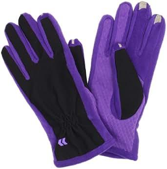 Isotoner Women's Smartouch Tech Stretch Glove, Purple, X-Small/Small