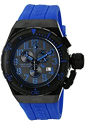 Swiss Legend Men's 'Trimix Diver 2.0' Swiss Quartz Stainless Steel Automatic Watch (Model: 13842-BB-01-BLAS)