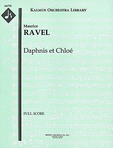 Daphnis et Chloé: Full Score [A6755] by E.F.Kalmus