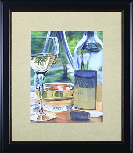 Art Effects Vin Blanc Framed Art (Blanc Vin)