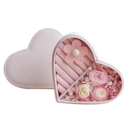 Rosas en una Caja de Regalo Inmortal Caja de anillos de ...