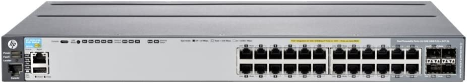 HP Aruba 2920-24G-PoE+ - switch - 24 ports - managed - rack-mountable (J9727A)