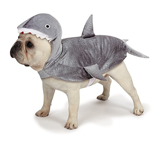 Casual Canine Casual Canine Shark Costume for Dogs, 12