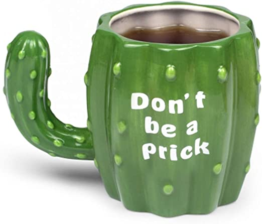 """cerámica sin asa Bloomingville /""""jade/"""" vaso con cactus"""