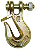 B/A Products G8-200-14 Twist Lock Grab Hook, Patented, 3.5'' Length, 3500 lb. Working Load Limit