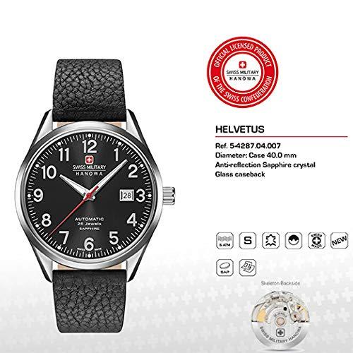 a3ee5fdb67 SWISS MILITARY-HANOWA - Mens Watch - 05-4287.04.007  Amazon.co.uk  Watches