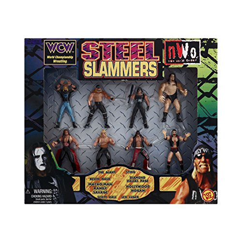 WCW and NWO Steel Slammers (Sting Action Figure Wcw Nwo)