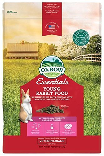 Oxbow Essentials Bunny Basics - Young Rabbit Food - Alfalfa Hay - 10 lbs (Bunny Food)