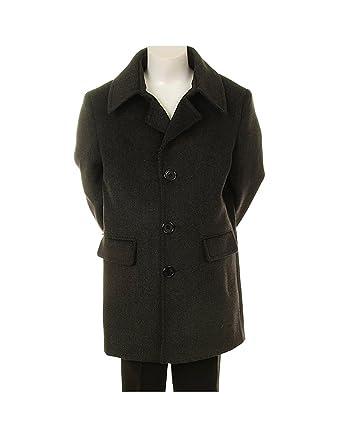 Amazon.com: Boy's Stylish Wool Formal or Casual Overcoat ...