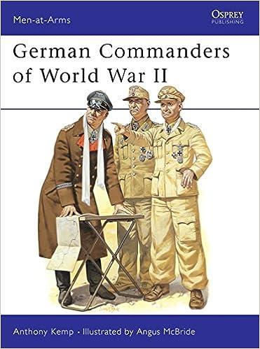0406ef61376 German Commanders of World War 2 (Men-At-Arms Series