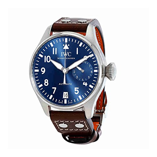 IWC-Mens-Swiss-Automatic-Stainless-Steel-Casual-Watch-ColorBlack-Model-IW500916