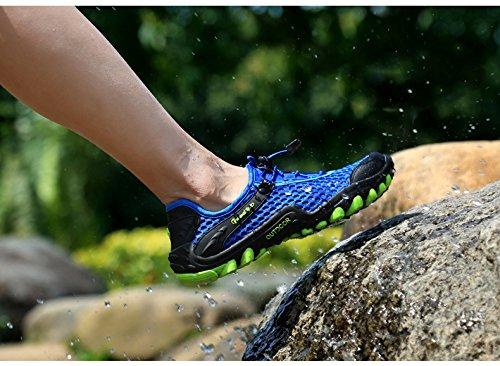 Randonnée Sneakers Homme Bleu Plage De Respirant Légère Aquatiques Trekking Arcweg Antidérapant Femme Marche Rapide Chaussons Séchage Chaussures xgOv6v