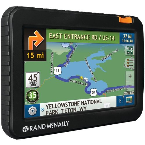 7715 LM Automobile Portable GPS Navigator by Rand McNally