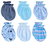 RATIVE Newborn Baby Cotton Gloves No Scratch