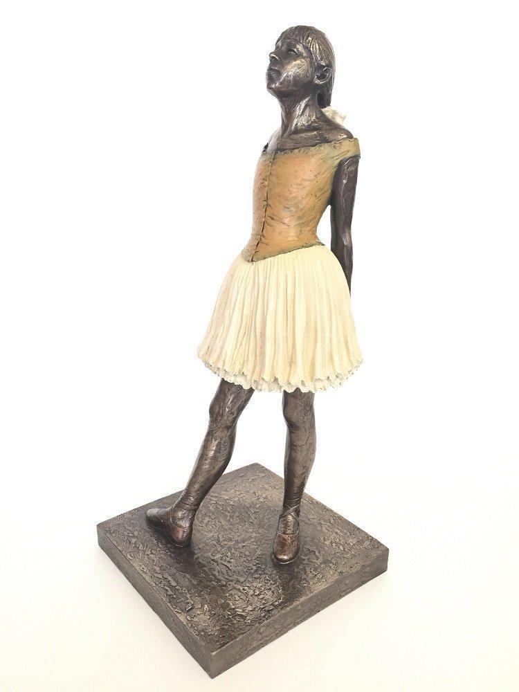 Large Degas ''Little Dancer'' Ballerina Statue