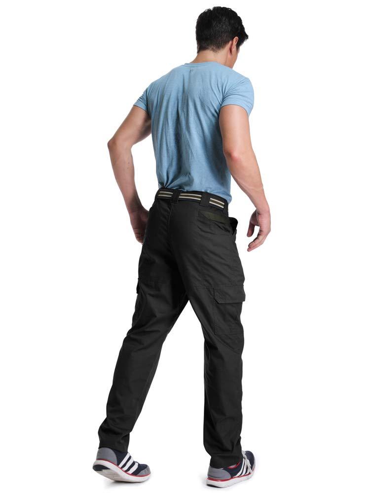 Outdoor Hiking Climbing Cargo OCHENTA Mens Lightweight Ripstop Tactical Pants