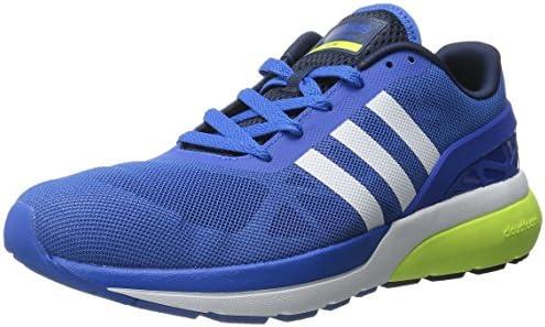 adidas Neo Men's Cloudfoam Flow Shoe,Blue/White/Yellow,9 M US: Buy ...
