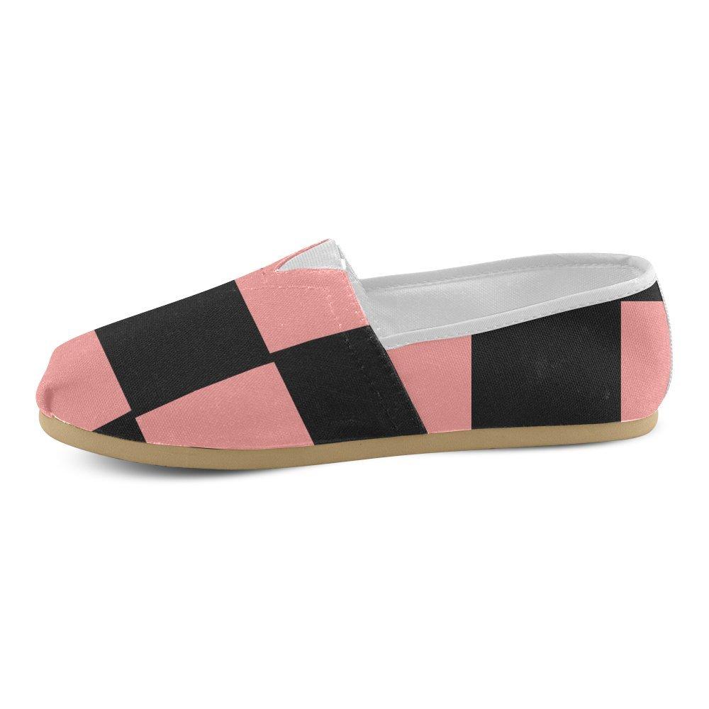 [InterestPrint] レディース B075VS6ZL5  Black and Pink_art 9 B(M) US