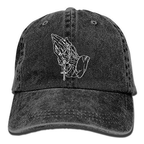 Prayer Hands Jesus Christ Christian God Unisex Adult Adjustable Baseball Dad Hats