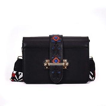 fd14da89c7c2 Amazon.com: Snowfoller Fashion Embroidery Embossed Casual Bag,Women ...