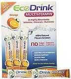 Ecodrink® Multivitamin Drink Mix 60 Packets (30*2) – (ORANGE Flavor Only) Review
