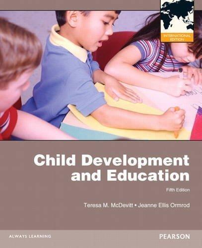 Child Development and Education by Teresa M. McDevitt (2012-01-01)