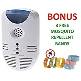 Pestoff Ultrasonic Pest Repeller for Rats Mice Rodents Electronic Non Chemical Plugin Device Safe for Humans and Pets
