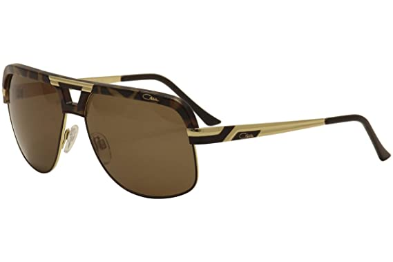 25cb849856d Amazon.com  Cazal 986 Sunglasses 003SG Tortoise Gold Brown Lens 63mm ...