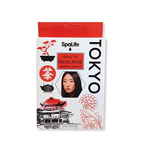 My Spa Life Spa life Seaweed and Omega 3 Pellicule Facial Wraps (3 Treatments)