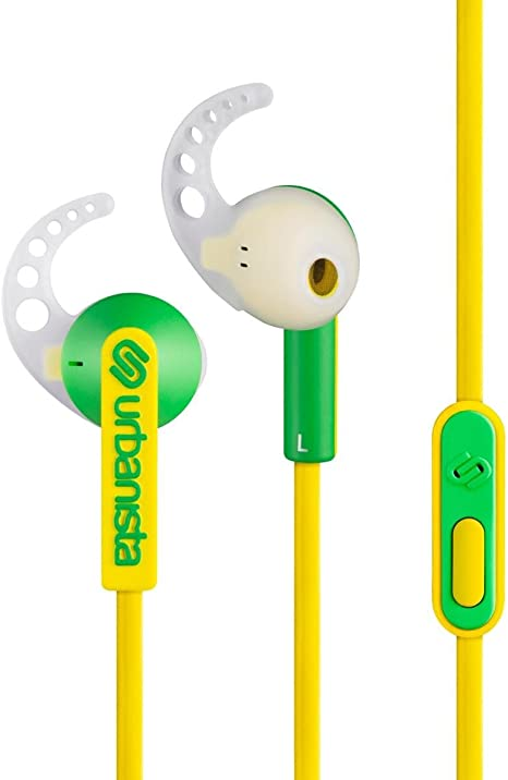 Urbanista Rio In Ear Headset Gelb Elektronik