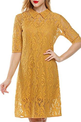 Buy bell shaped sleeve dress - 3