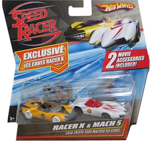 - Hot Wheels Speed Racer Movie Moments - Speed Racer Racer X vs. Mach 5 Casa Cristo 5000 Maltese Ice Caves