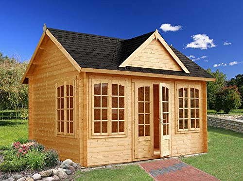 Allwood Chloe | 123 SQF Kit Cabin, Garden House
