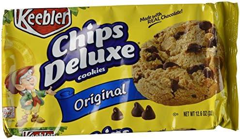 amazon com keebler chips deluxe chocolate chip cookies 12 6 oz