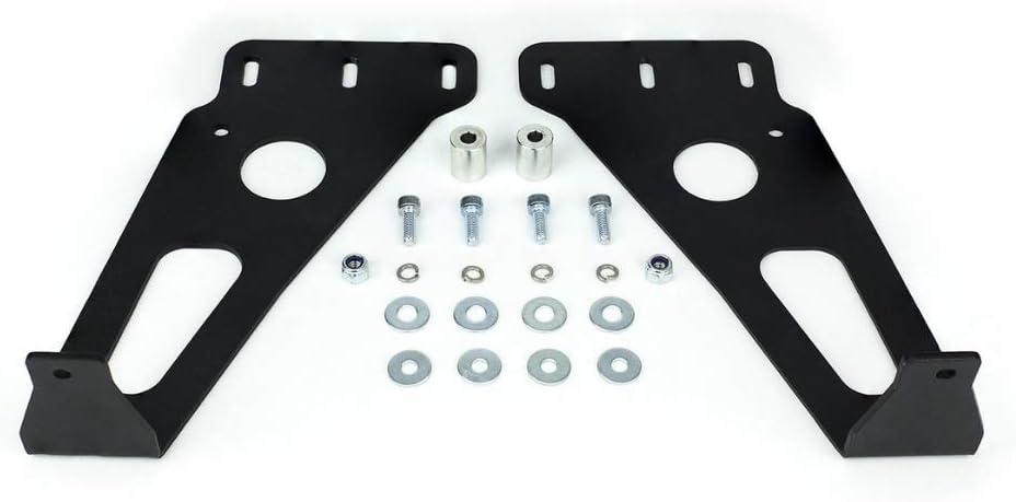 32 Hidden Lower Bumper LED Bar Mounts Fits 2014-2020 Toyota 4Runner
