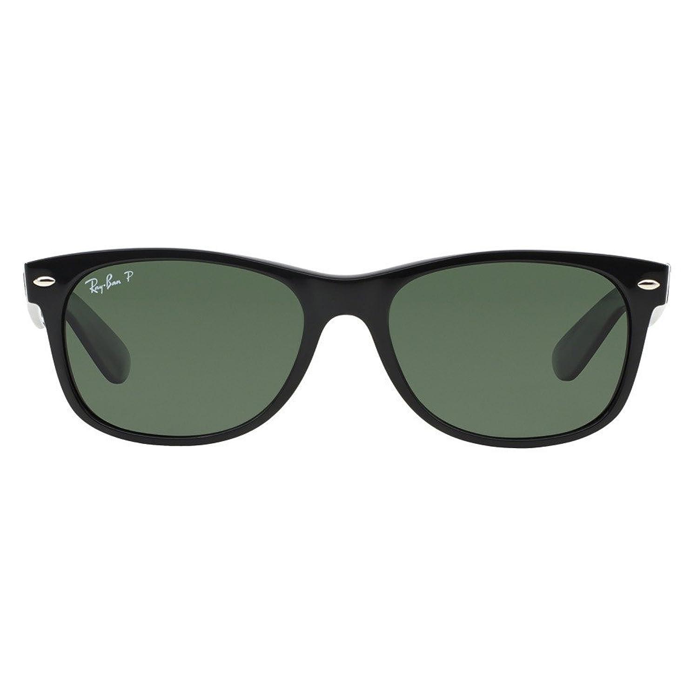 ray ban wayfarer small  Ray-Ban RB2132 New Wayfarer Sunglasses, Black (622), 52 mm: Ray ...