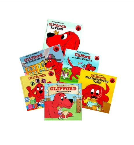 Clifford The Big Red Dog Birthday Party - The Big Red Dog Series (8): Clifford Takes a Trip; Clifford's Birthday Party; Clifford Keeps Cool; Clifford's Kitten; Clifford's Thanksgiving Visit; Clifford's Tricks; Clifford the Firehouse Dog; Clifford's Good Deeds (Clifford the Big Red Dog Collection)