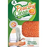 Peachy Clean Silver Infused Gourmet Silicone Dish Scrubber Sponge offers